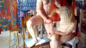 hubby having a heavy orgasm