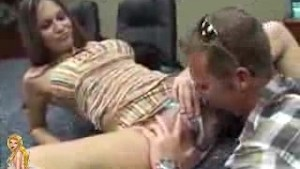 MILF Brunette Pussy Licked & Fucked