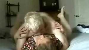 Mature couple fucking for home