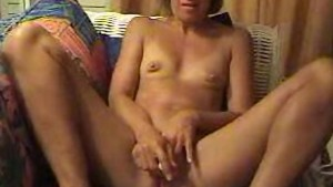 Sexy milf with small tits mast