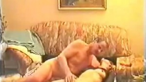 Couple fucking on the floor