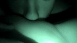 Night Vision Pussy Eating Coup