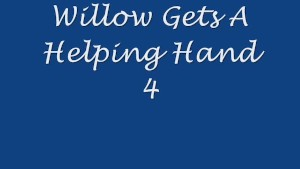 Willow Gets A Helping Hand 4