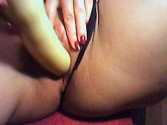 Swiss Girlfriend dildo cam (35 y.o.)