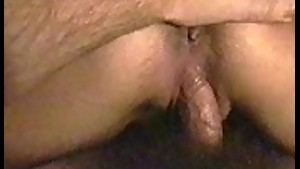 my wife's pussy...wet and horny!