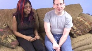 Ebony cutie comes back for more