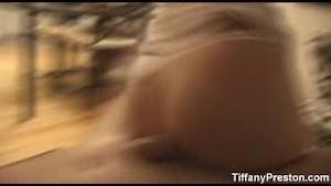 Tiffany give blowjob and get facial