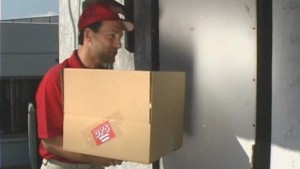 Delivery boy gets lucky - Pt.