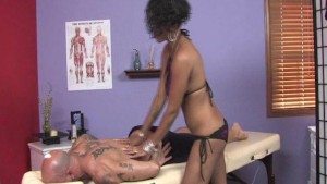 Sexy Masseuse Tricks Client Pt