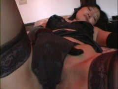 Asian honey shows off