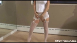 Tiffany Preston goes black - Part1of2