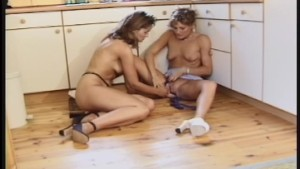 Hotties at the stove whip up a dessert 2/4