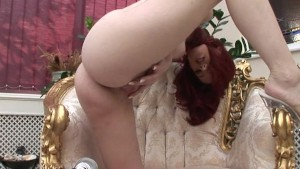 Busty Gabrielle Dildos Her Tig