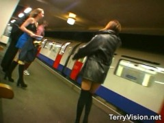 Public flashing at the London Underground
