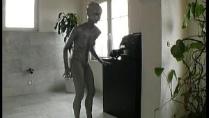 Sexy Alien from outer spance Roberta Part 1