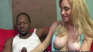 Hooker Aiden Starr works black cock for money