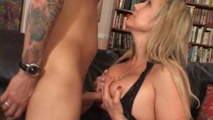 Big titted milf is glad her bo