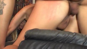 Big titted milf is glad her boyfriend came home - Pt. 4/4