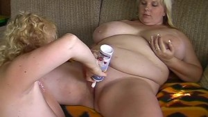 chubby big natural breast lesb