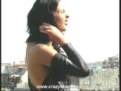 - Black Nylon Catsuit Angie