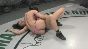 Annie Cruz is a hell of a wrestler & squirter!