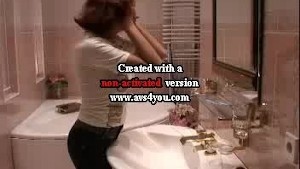Audrey suck and fuck in a bath