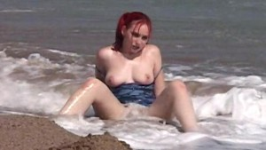 Sabrina in the Surf