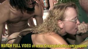 Creampie Cathy - 34 Guy Creampie