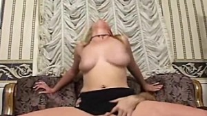Cockhungry Blonde Pussyload of