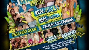Girl fingering pussy then fucks stranger in a club