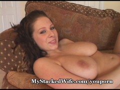 Huge Titted Lesbians Strap It On