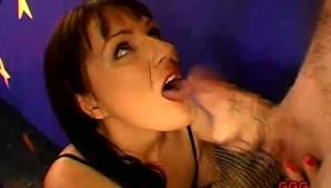 Hot Pornstar Swallowed My Cum!