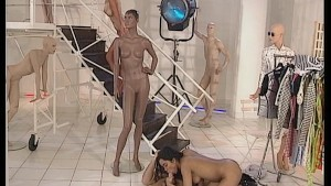 Let the mannequins use the dildos, while I use the real dick