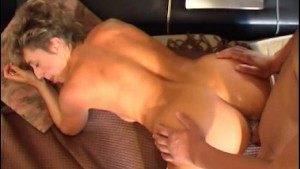 MILF has guy all over her