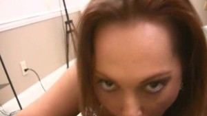 Amateur girl Abby blow job and