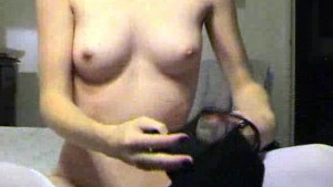Petite Amateur Plays With Her Pussy