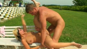 Outdoor Resort Sex pt 1/3