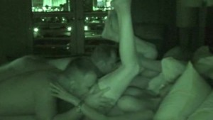 FOURSOME ON NIGHT VISION CAM -