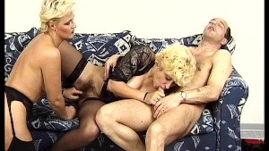 Big busted Lesbians plan with big cock