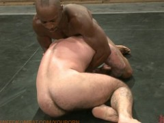 Picture Street fighters in a sex wrestling