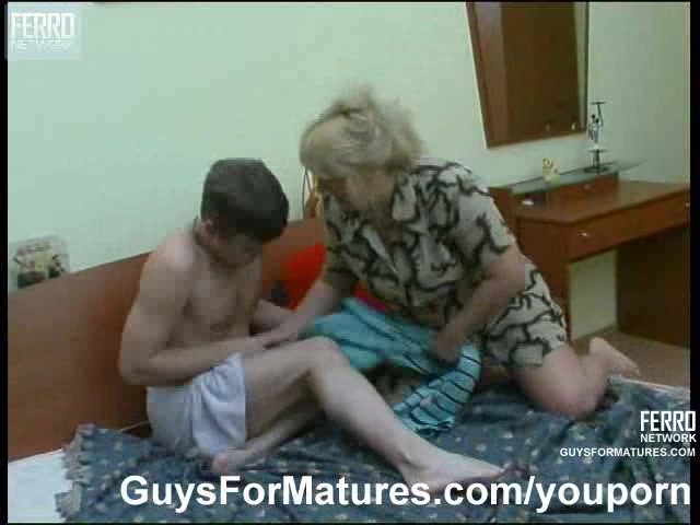 two milf fucks boy