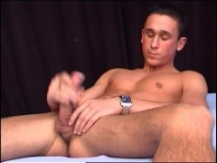 stud lets you watch him jerk his big cock