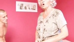 Mature Granny Betty Fucks Youn