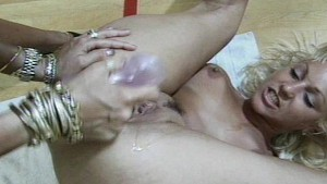 Lesbians playing with their lo