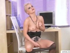 Picture Anilos orgasm in the office