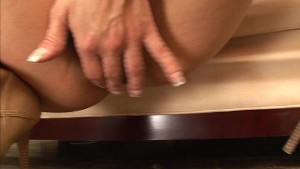 Dirty slut and her creampied asshole