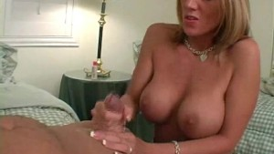 busty ex girlfriend handjob