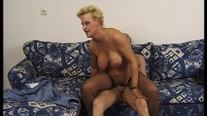 Mature, blonde and horny!