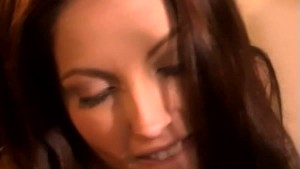 2 Super Hot Brunettes Kissing and Licking