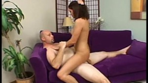 Hot Brunette Takes It In The Ass